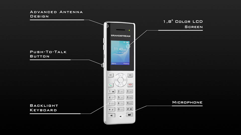 WiFi phone for rural holiday home
